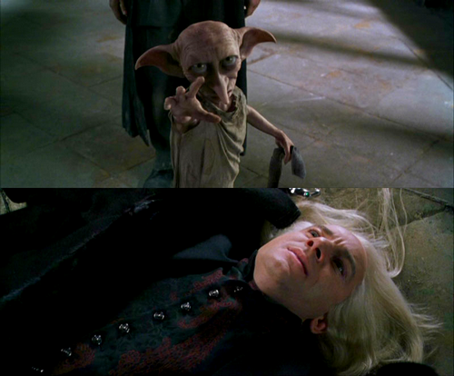 Dobby seriously is the ultimate badass.