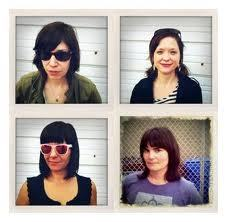 lau-fi:  Is Wild Flag going to make Mary Timony famous [again]? Will she remember the time she slept over at my house in Montreal and we went out for breakfast the next day, and she was so shy I was powerless against it? I was no match for it. There were birds chirping on my balcony in the morning and I had a moment of stabbing narcissistic joy (the best kind?) where I thought my ramshackle apartment and its pigeon nest might become weird Timony lyrical imagery. But now she's in the kind of band that doesn't seem to traffic in medieval birds or whatever, and all I want is for them to come east.