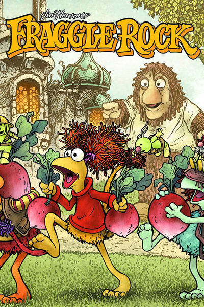 Market Monday Fraggle Rock #1, written by Grace Randolph, art by Katie Cook