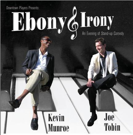Ebony and Irony (Kevin Munroe & Joe Tobin) (Who did this art?) (This image makes me dream of classy LP Comedy covers swimming in 50s advertisement sensibilities)