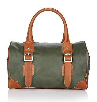 Hunter Kelso Leather Doctor Bag Satchel, $450 at Bloomingdale's.