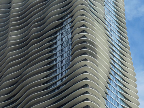 aqua tower, chicago/studio gang via: designboom