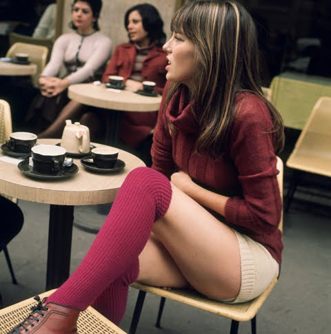 Jane Birkin, 1971 (by Michael Donovan)