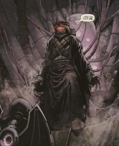 """…you will know me."" Batman: The Return #1 (January 2011) Holy fuck."