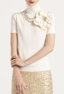 Get Ready Kathleen Turtleneck, $265 at Kate Spade. So gorgeous.