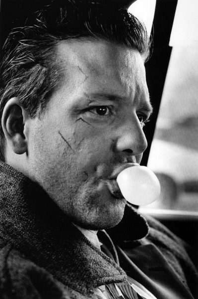 anneyhall:  Mickey Rourke, 1986. Photo by Helmut Newton