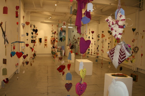 Welcome to the Heartfelt exhibition- happening right now in Bristol! Can you spot your heart?