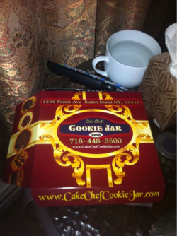 Cake Chef's Cookie Jar is the best place to get cookies on Staten Island. It's probably one of the better places in the whole city. That's why my Manhattan ass travels for an hour to get them (also to visit my parents but seriously these are good freakin' cookies)  These are the cookies I gave to the nurses while I was in labor.  $10/lb for really top notch cookies. What a deal!