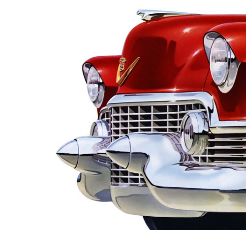 breezingby:  Plan59 :: Classic Car Art :: Vintage Ads :: 1954 Cadillac