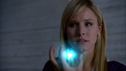she's always electric- taser in Veronica Mars and electricity super power in Heroes. FIERCE in both.