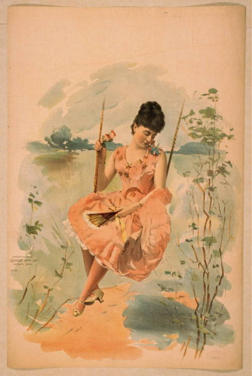 Lithograph by the Calvert Litho. Co., 1892.