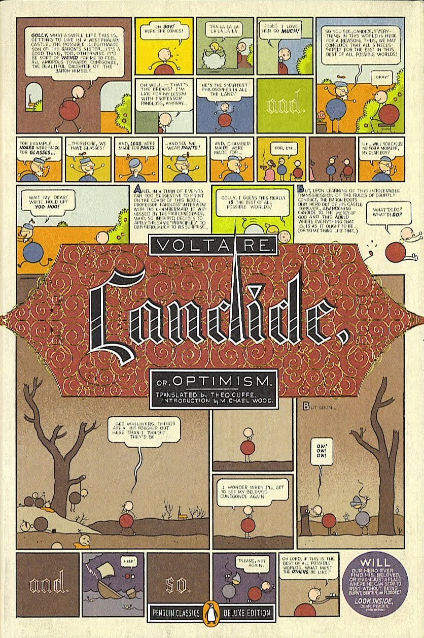 dustanddrag:  Voltaire cover, Chris Ware.