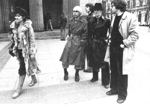 Bowie, Iggy, and Coco in East Berlin