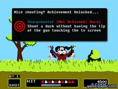 Duck Hunt Achievement