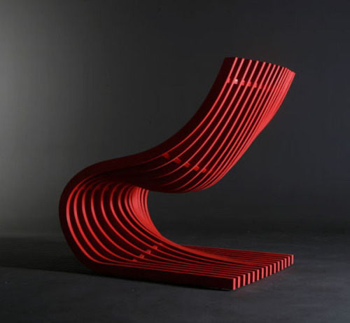 Double Section Chair by Piegatto