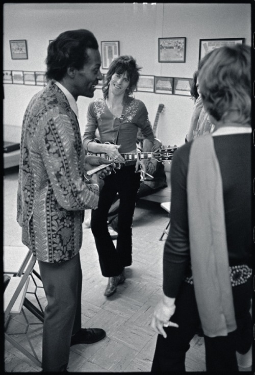 suicidewatch:  Chuck Berry & Keith Richards