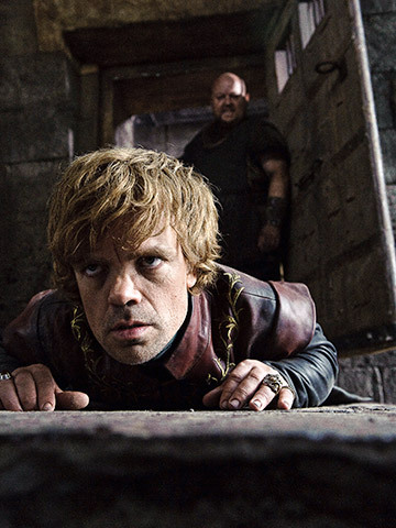 Until George R.R. Martin finishes A Dance with Dragons, Tyrion Lannister is going to take a beating! ;)