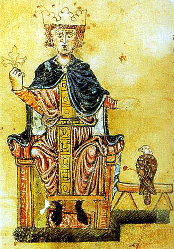 "juliettealexandra:  On this day in 1220 Frederick II was crowned Holy Roman Emperor. Thanks to twitter.com/britishmuseum for this fact!  That was the time, when ""Greeks"" (i.e. Byzantines) and Jews, Saracens and Normans would more or less peacefully live in Sicily and Southern Italy, making the country a brilliant, cultured and (relatively) moderate place to live in. That's the time my ancestors (a part of them, at least), came in to Italy from France… After that, the petty communal interests of North Italian cities prevailed (with the interested help of the Pope's temporal power) - and pushed civilization back for centuries."