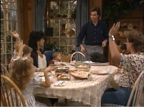 "Remember this? ""Scratch the white meat. We have dark meat and really dark meat."" Read more: A Startlingly Comprehensive Pictorial History of TV Characters at Thanksgiving Dinner"