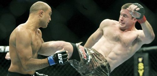 BJ…still the king knocking Matt Hughes out in 21 seconds at UFC 123