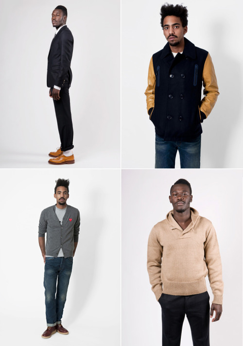 This holiday season I challenge all retailers to find male models as cool as these gentlemen on Très Bien Shop.