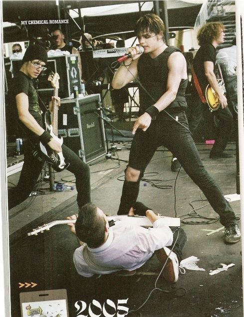 My Chemical Romance playing the 2005 Vans Warped Tour - Alternative Press
