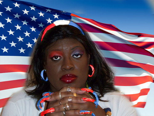 la sQuisha gets PATRIOTIC