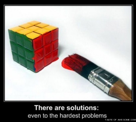 There are solutions: even to the hardest problems fuckyeah-awesome-stuff: