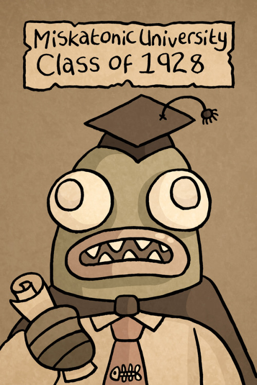 Dagon's Graduation photo.