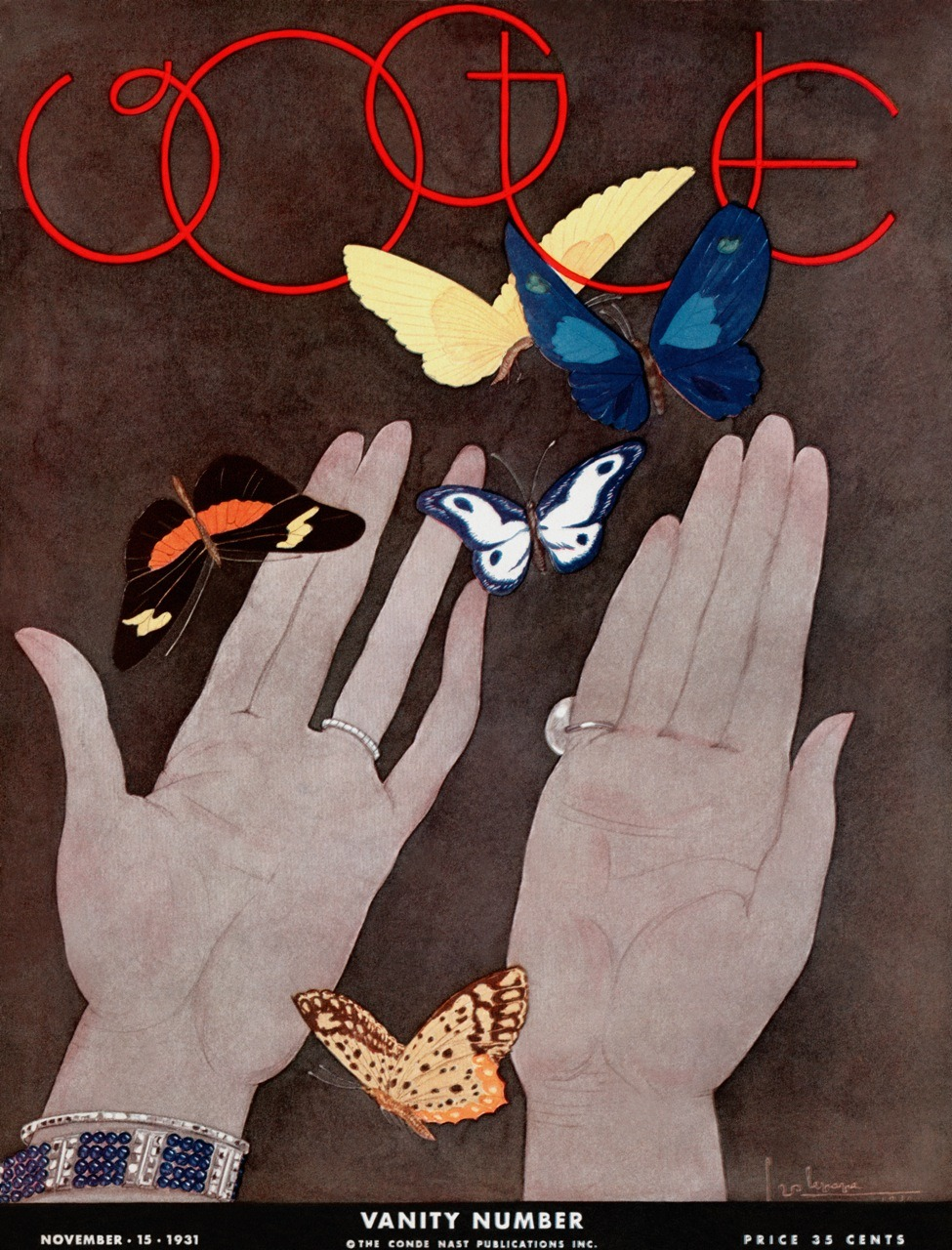 vogue:  NOSTALGIA: 1931 Vogue Cover Illustrated by Georges Lepape