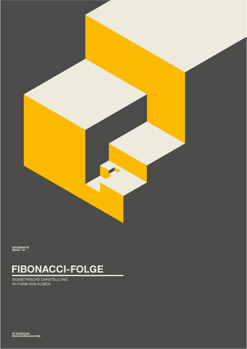 weandthecolor:  Clean Geometric Poster Design by Albert Exergian __posted by weandthecolor//facebook//twitter
