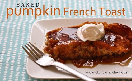 MADE: Baked Pumpkin French Toast
