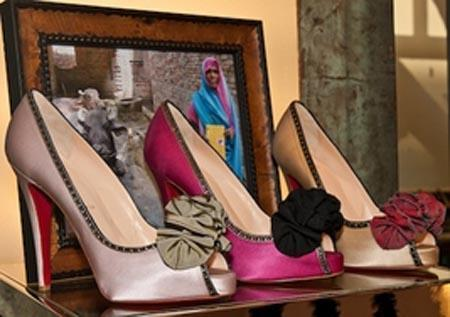 Christian Louboutin shoes being sold for charity!