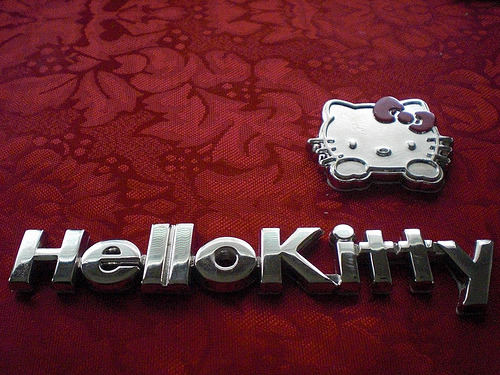 Hello Kitty Car Emblem