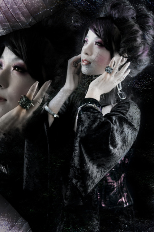 Art Fashion Photography all produced by Tensei Sugahara Producer/Director: Tensei SugaharaClothing/Jewelry: Tensei SugaharaStylist: Tensei Sugahara, ChiroModel: TomomiHair Stylist: ZakuroMakeup Artist: RunaPhotographer: Jun OhtaPhoto Editor: Penny Scott