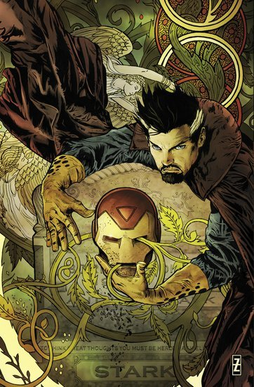 2and1-2colors:  The invincible Iron Man