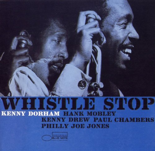 kenny dorham - whistle stop (sleeve art)
