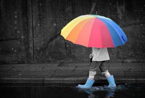 """""""Primeiro a chuva depois o arco iris. A ordem é sempre essa."""""""