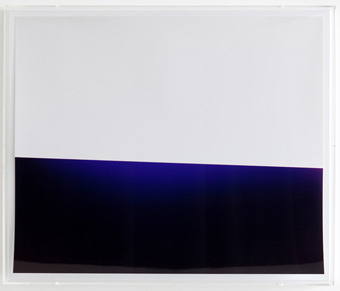Wolfgang Tillmans - Lighter, white/blue/black I, 2010