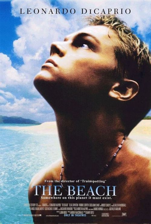 "When ""The Beach"" hit American cinemas just  over 10 years ago, most of the hype surrounding the movie centered on  its star, Leonardo DiCaprio, and its director, Danny Boyle. Scant media  attention was given to the movie's core themes, which drew on Alex  Garland's 1996 novel of the same name about a community of Western  backpackers veering its way into self-destruction on an anonymous Thai  island…Some critics compared the macabre adventure tale to earlier works  like William Golding's ""Lord of the Flies"" or Joseph Conrad's ""Heart of  Darkness,"" but few pondered how the story reflected the  globalization-tinged insecurities of the age in which it was written. In  fact, the most intriguing theme of ""The Beach"" was not the moral  degeneration of the backpackers' island ""paradise,"" but the insipid  consumerist fantasies that inspired how that paradise should look in the  first place. In trying to create the real-world equivalent of a tourist  brochure (and in succumbing to the petty social-status rivalries of  home), Garland's characters became an ironic extension of the mass  culture they'd tried to escape.   more, here."