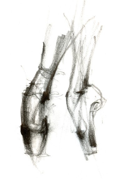 joliemarie:  ballet on pointe by BalletArt on Etsy