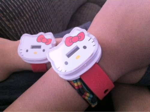 He and I love hello kitty :) /  yayyitsmary
