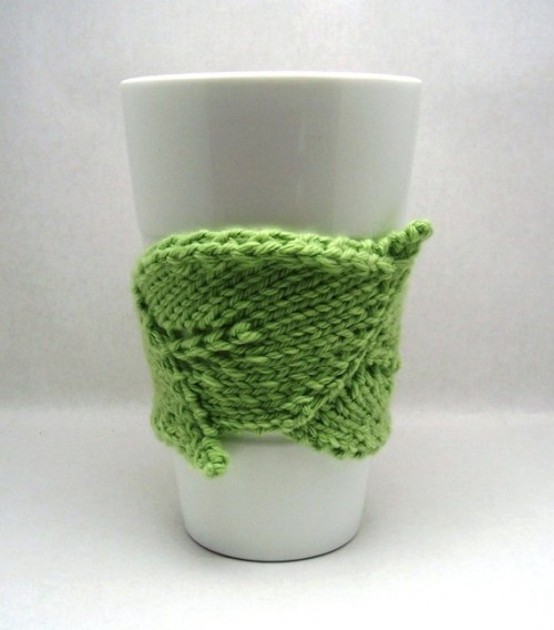 Leaf Cuddler PDF Knitting Pattern by kljmayfield9 on Etsy  **ETA** If she isn't currently selling this pattern at her Etsy shop, you can find it in her Ravelry pattern store.