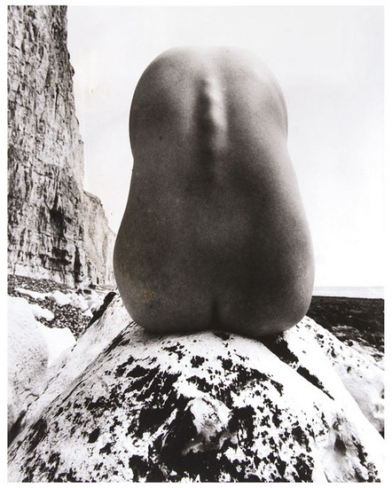 Nude, East Sussex Coast c.1955 by Bill Brandt