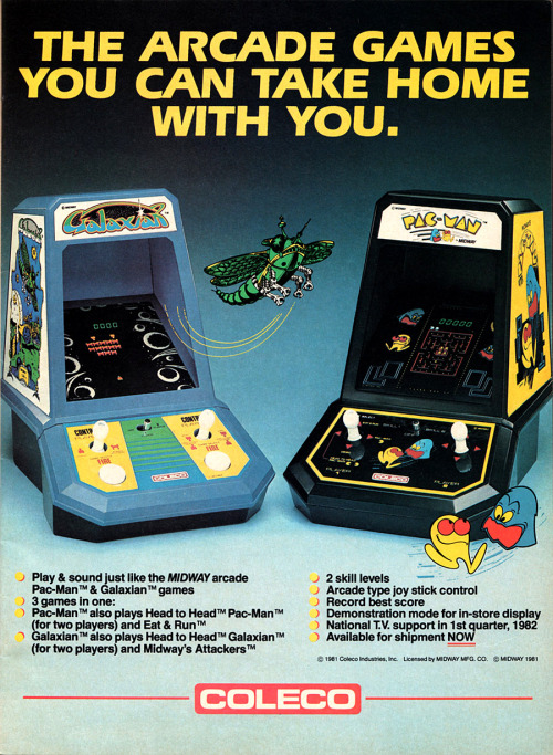 heyoscarwilde:  Taken from Electronic Games (Reese Publishing Inc./1982)