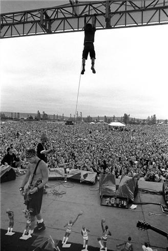 Eddie Vedder Pearl Jam Seattle WA 1992
