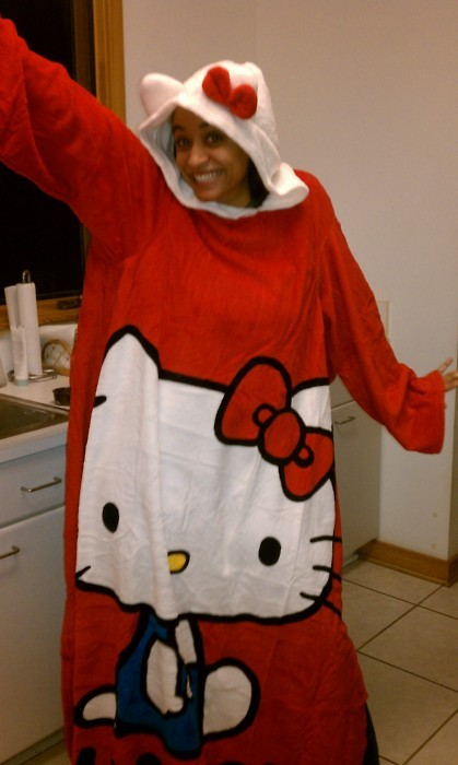 Hello Kitty Snuggie!!! / getyourliferight. so is someone gonna get me this or what. I don't want this…I NEEEED IIIIT