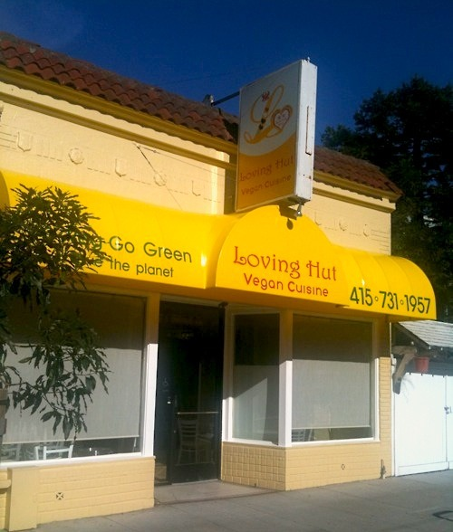 "NEW SF VEGAN RESTAURANT ALERT! San Francisco's third Loving Hut is going in on at 524 Irving St. (at 6th Avenue) in the Inner Sunset. The location used to house Minh Tri, a Vietnamese joint that we're told was ""grody."" Whether you love Ching Hai or hate that crazy, crazy biznatch, more vegan dining is pretty cool. Plus, awesome spring rolls.  We'll update you as soon as we get word on actual opening date, which involves one of you emailing us that info. Real Journalism."