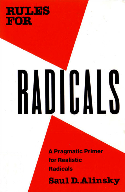 Book Cover: Rules for Radicals. 1989