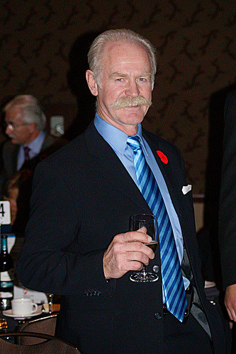 The Mustache, The Man, The Legend - Lanny McDonald